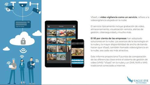 VideoVigilancia en la Nube - (Analitica-Conteo Personas, Control de aforo  adaptar a la actual infraestructura de cámaras  y sensores todo administrado desde la Nube Propia)