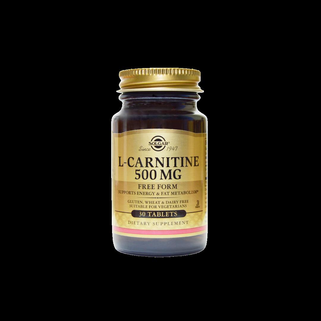 L Carnitine 500 mg 30 cap